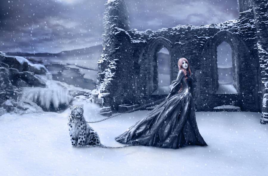 Snowfall by Notvitruvian