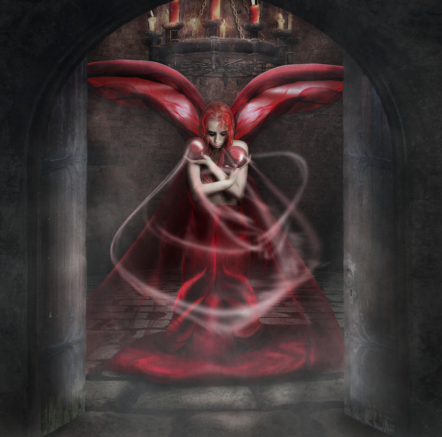 One step from Hell by Notvitruvian
