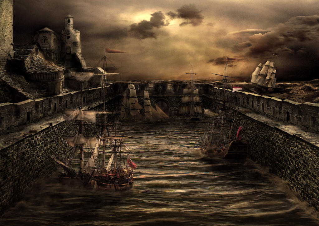Safe Harbour by Notvitruvian
