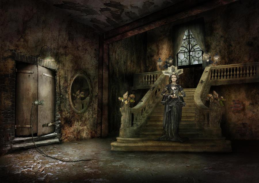 The Anteroom by Notvitruvian