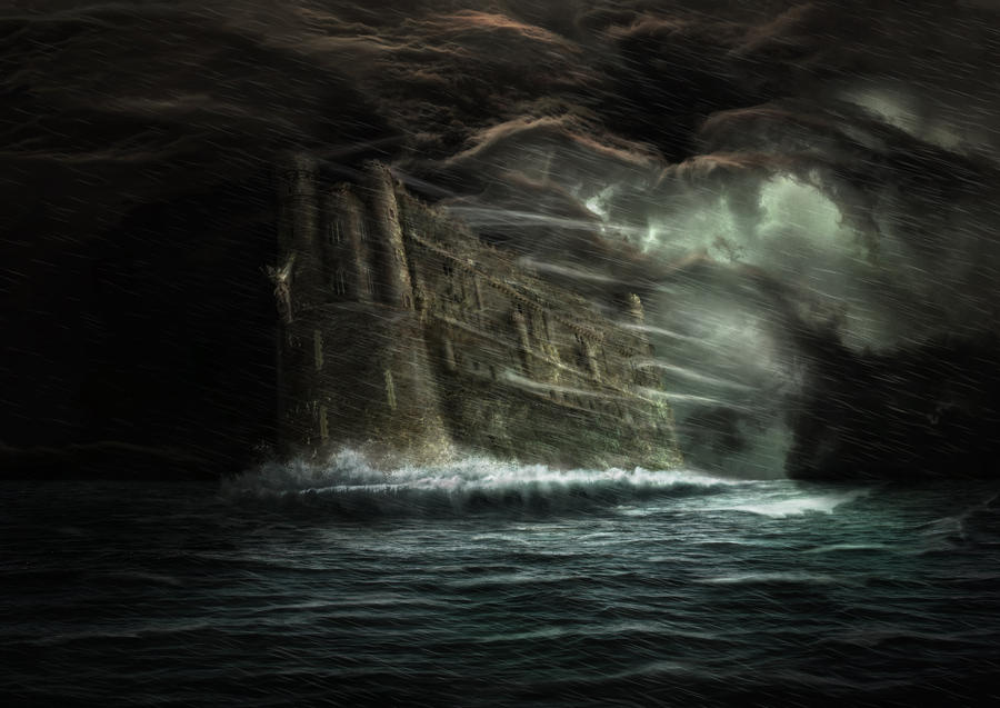 Uncharted waters by Notvitruvian