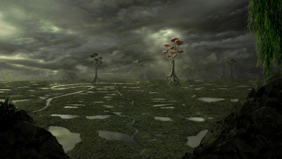 Marshlands by Notvitruvian