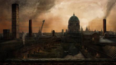 The Wharf by Notvitruvian
