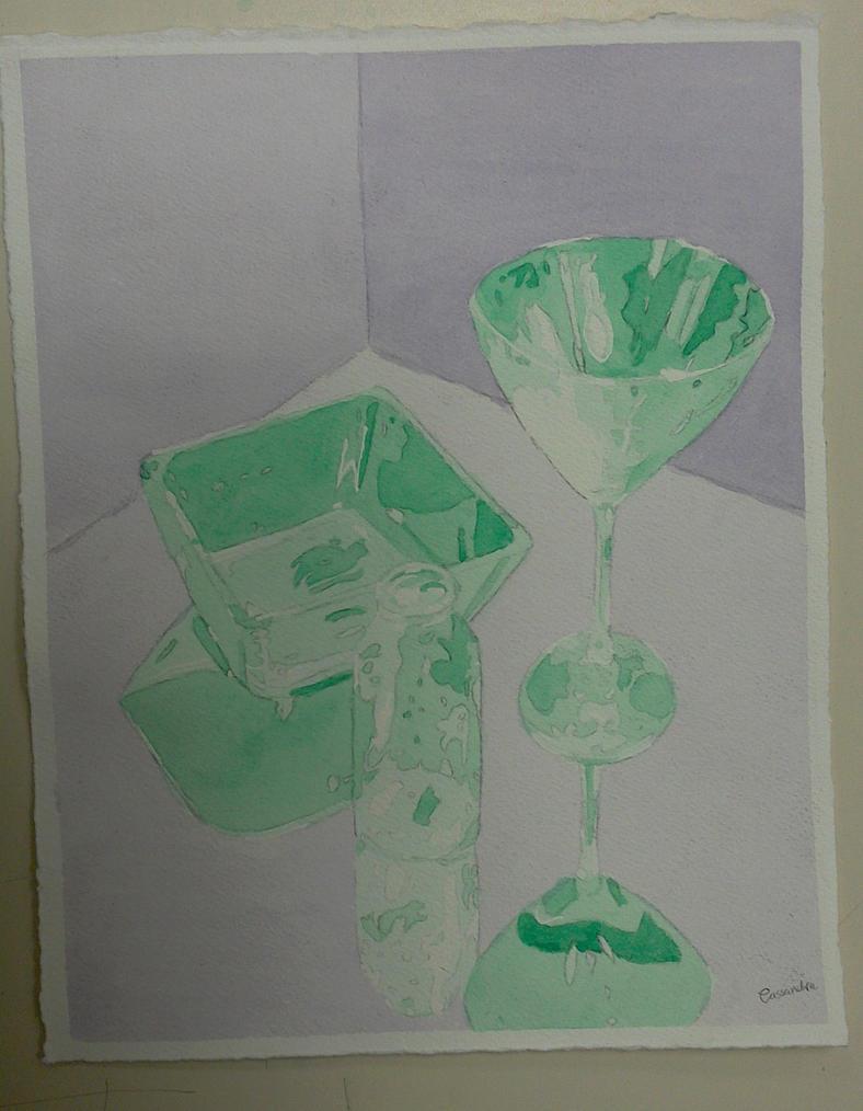 Green Glass by ukulelecrazy