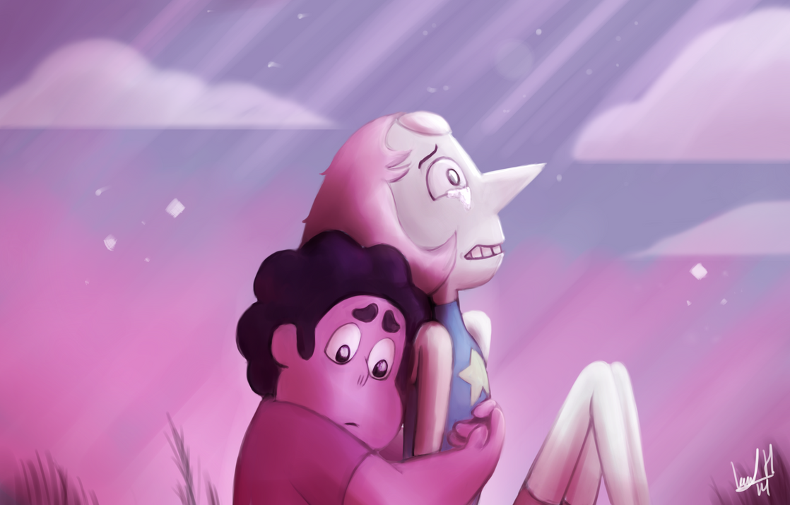 Steven Universe - I Think You're Pretty Great... by Khan-the-cake-lover