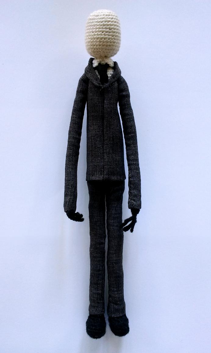 Amigurumi Slender Man : Slender Man by nevR-sleep on DeviantArt