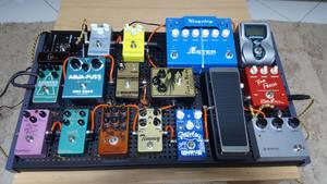 Recent pedalboard