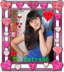 Cuadrito de amor para mi linda y hermosa princesa  by Samusnake92