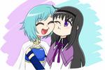 Sayaka e Homura