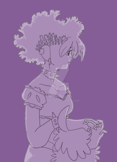 Afro Punk Iris by figwine