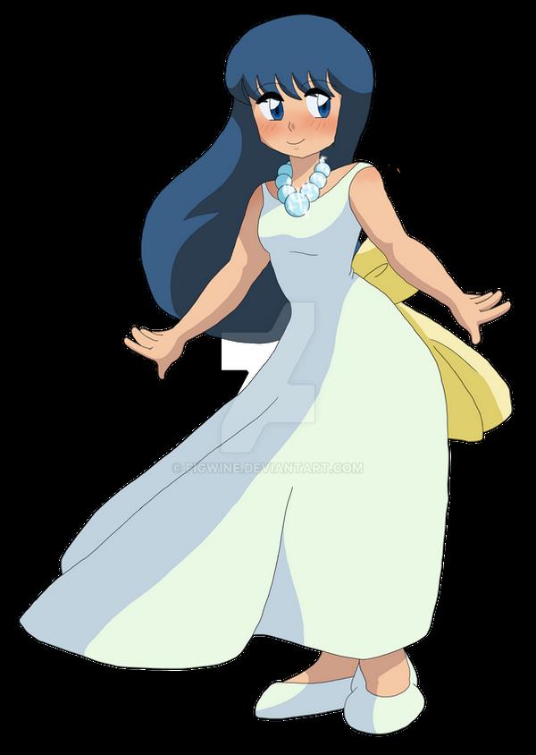Dawn's White Dress by figwine