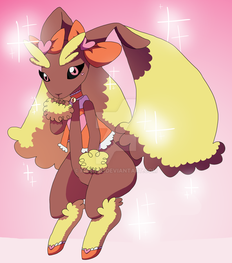 Lopunny Glamorous by figwine