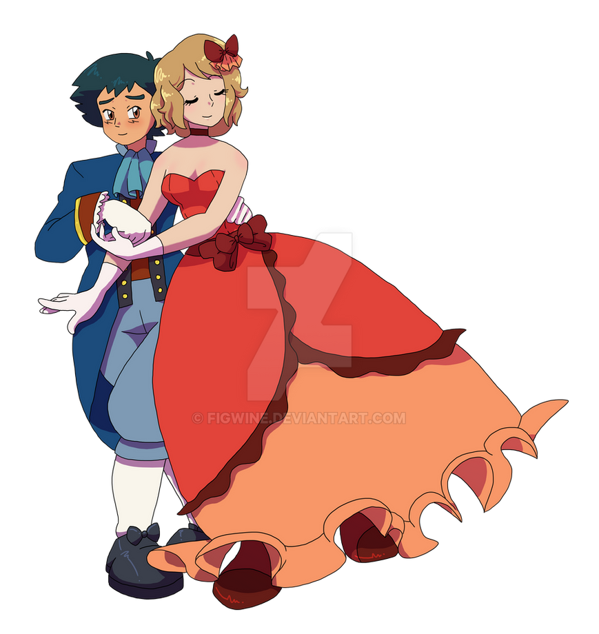 Amourshipping Week Piece #1 by figwine