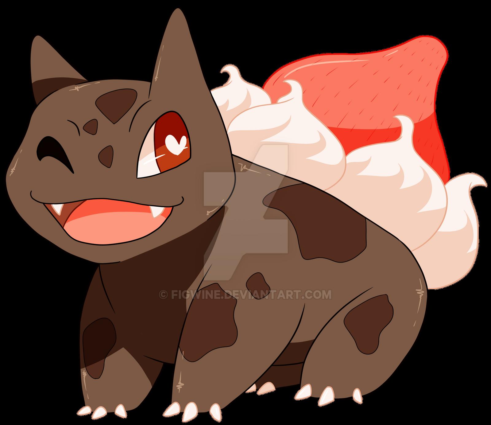 Chocosaur!! by figwine