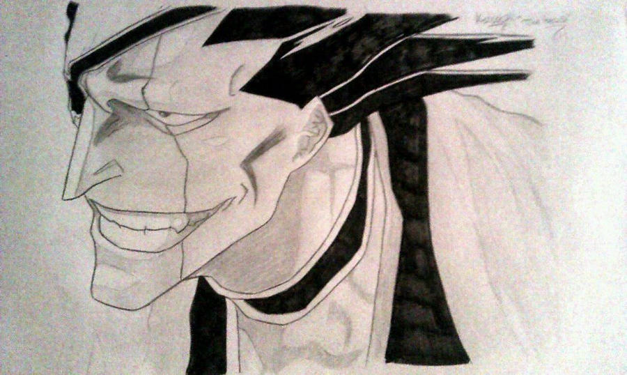 Zaraki Kenpachi 11 Squad Captain From Bleach By Infenityi66