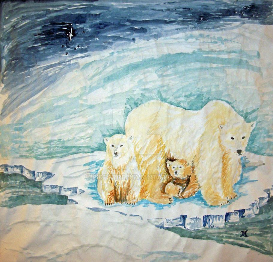 Polar Bear Float by Ridesfire