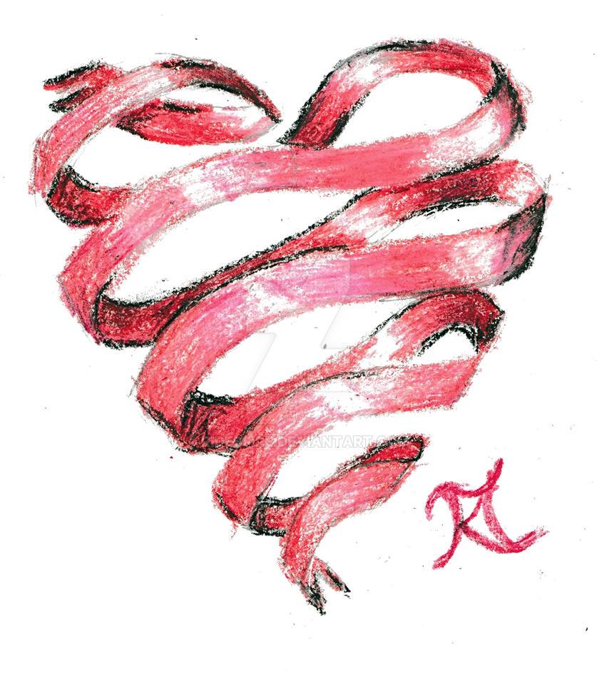 Ribbon Heart by Ridesfire
