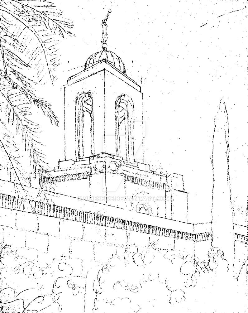 LDS Temple # 089 by Ridesfire
