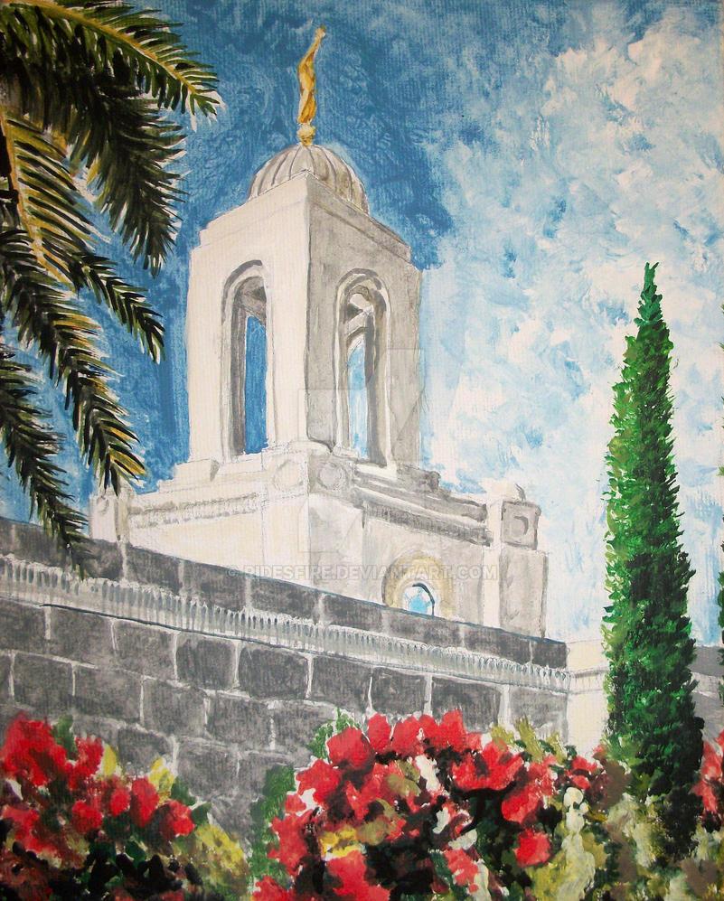 Newport Beach CA LDS Temple by Ridesfire