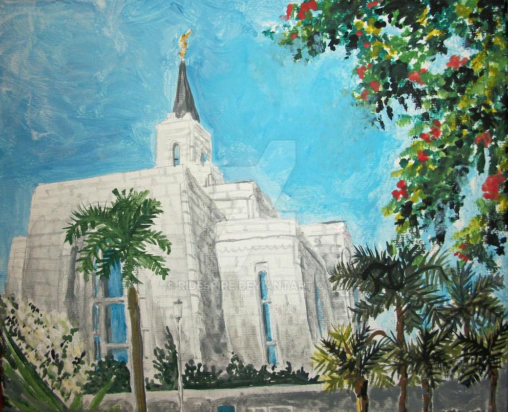 San Salvador El Salvador LDS Temple by Ridesfire