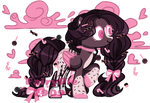 | CANDY PONY ADOPT | OPEN by FairyPie2909