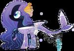 | MERMAID-PONY | by FairyPie2909