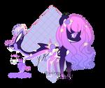 | DOLPHIN-PONY ADOPT | OPEN | by FairyPie2909