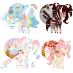   SWEET PONY ADOPT   3/4 OPEN   by FairyPie2909