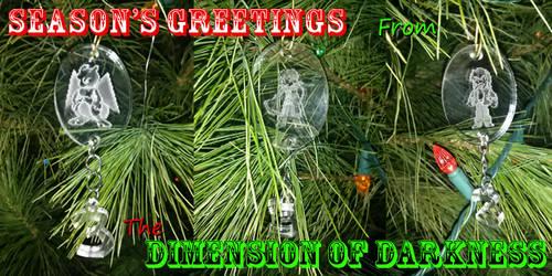 Festive Yulethree Ornaments by The-Evil-Mewthree