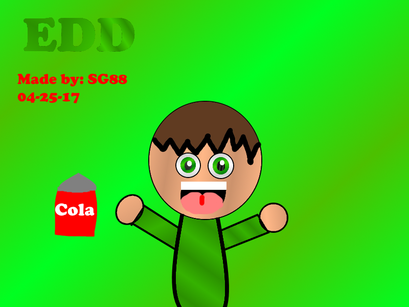 how to draw edd from eddsworld