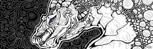 Detailed Tablet Dragon