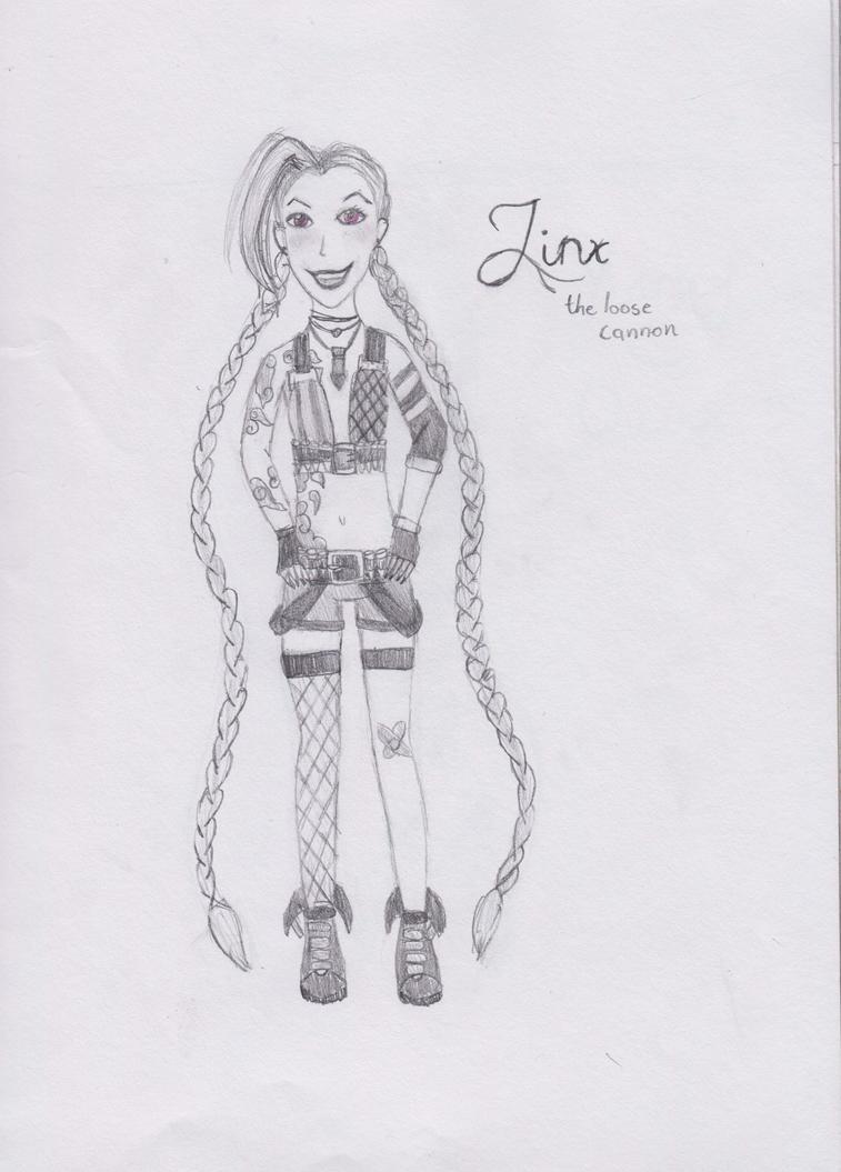 League of Legends: Jinx by Melmemoo