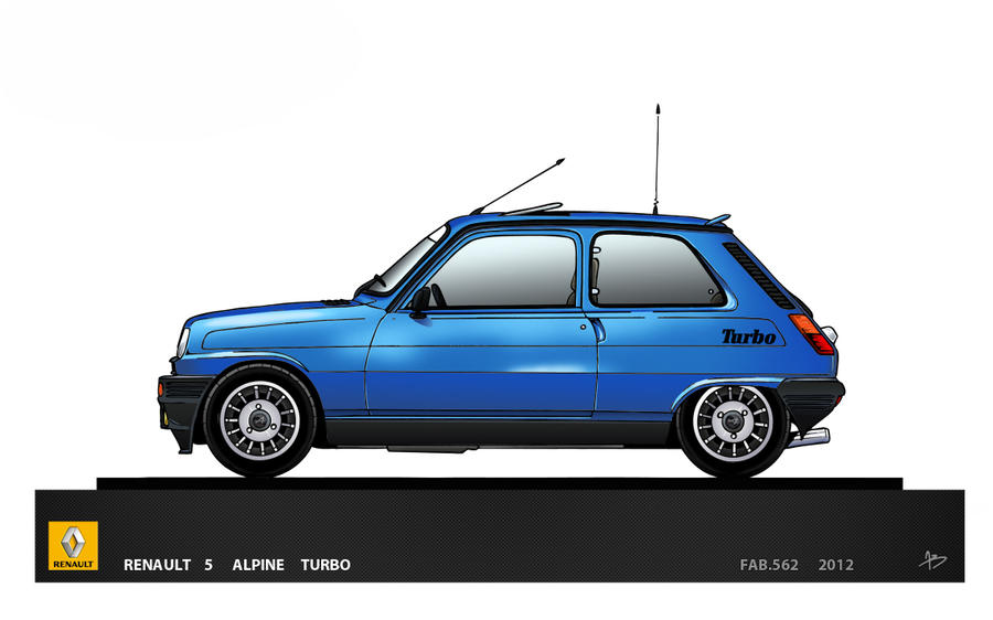 renault 5 alpine turbo by fab562 on deviantart. Black Bedroom Furniture Sets. Home Design Ideas