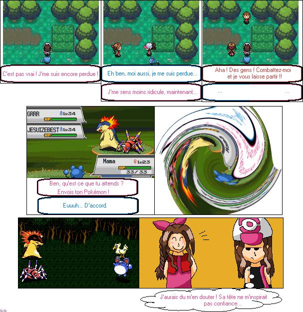 La galerie de l'Évoli sans cervelle... - Page 3 Battle_pokemon__or_not__by_eevee33-d3ad6uy