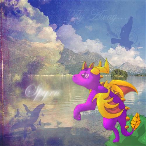 La galerie de l'Évoli sans cervelle... - Page 4 Spyro___fly_away___signage_by_eevee33-d49jasl