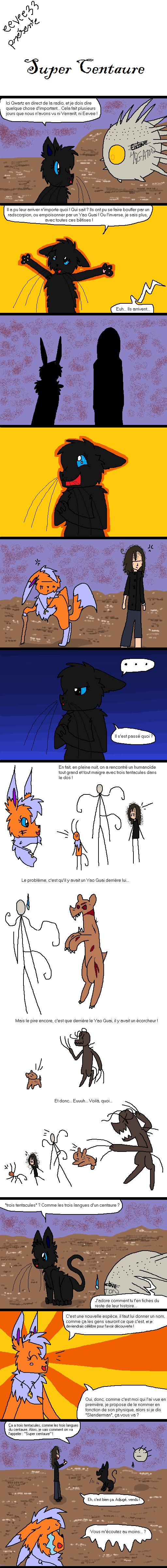 La Galerie de l'Évoli sans cervelle... - Page 2 Super_centaure_by_eevee33-d6gsri3