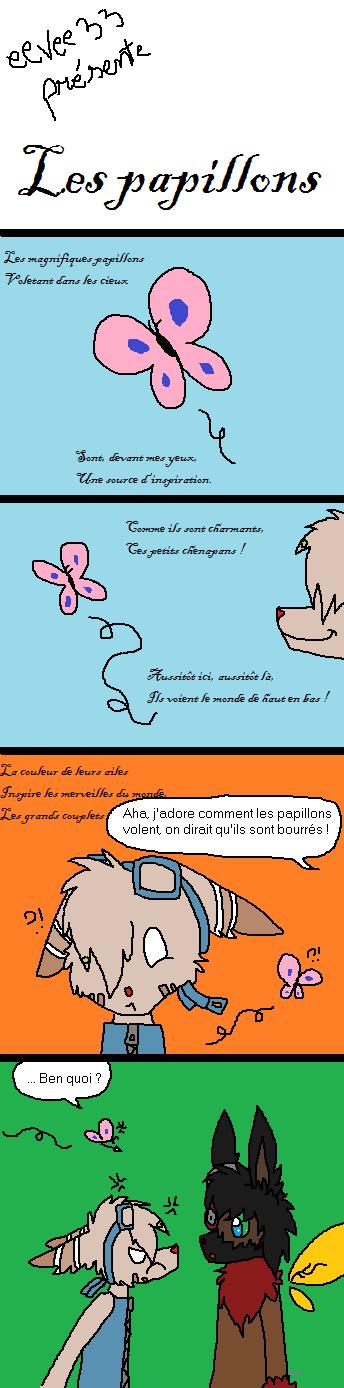 La Galerie de l'Évoli sans cervelle... - Page 2 Les_papillons_by_eevee33-d6iztc6