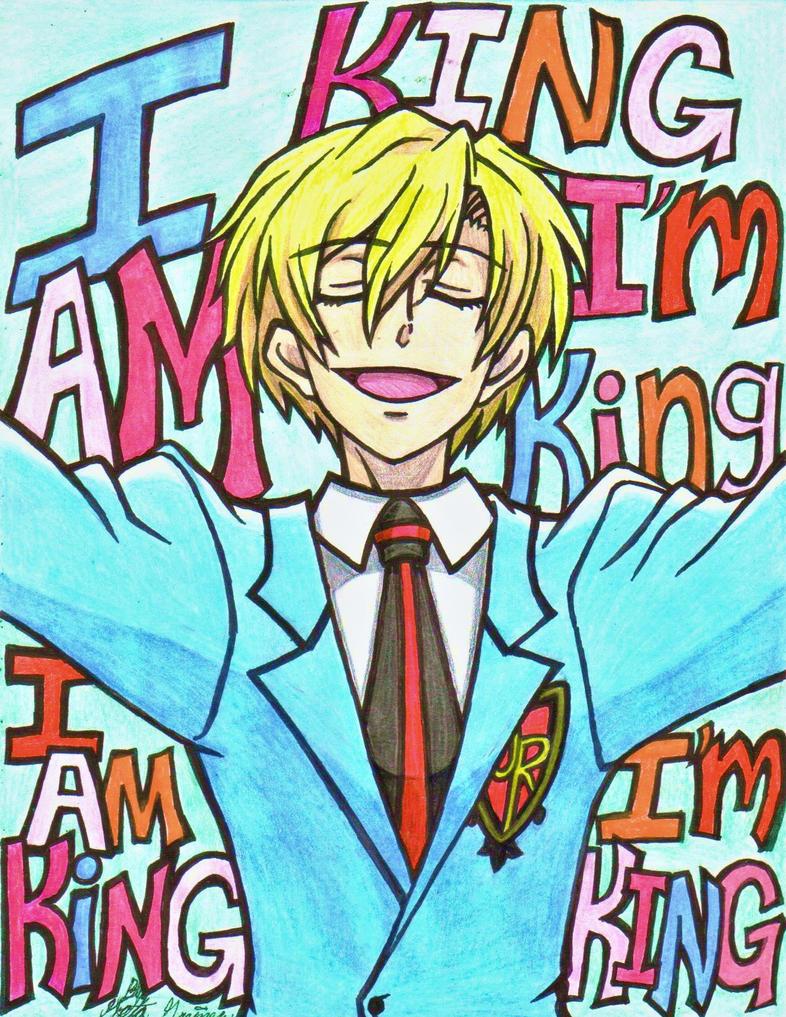 tamaki the stupid king of the host club by HugAttack4JesusXD