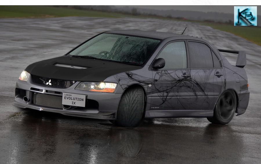 Mitsubishi Lancer Evo 9 Wallpaper. Mitsubishi Lancer evo 9 by