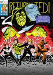 Return of the Jedi/ Fantastic four cover - Colour by philtactics