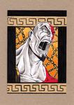 Kratos - God of War - Sketch Card