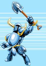 Shovel Knight Pixel Variant