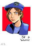 Jill Valentine by philtactics
