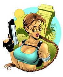 Lara Croft - Tomb Raider - Colour