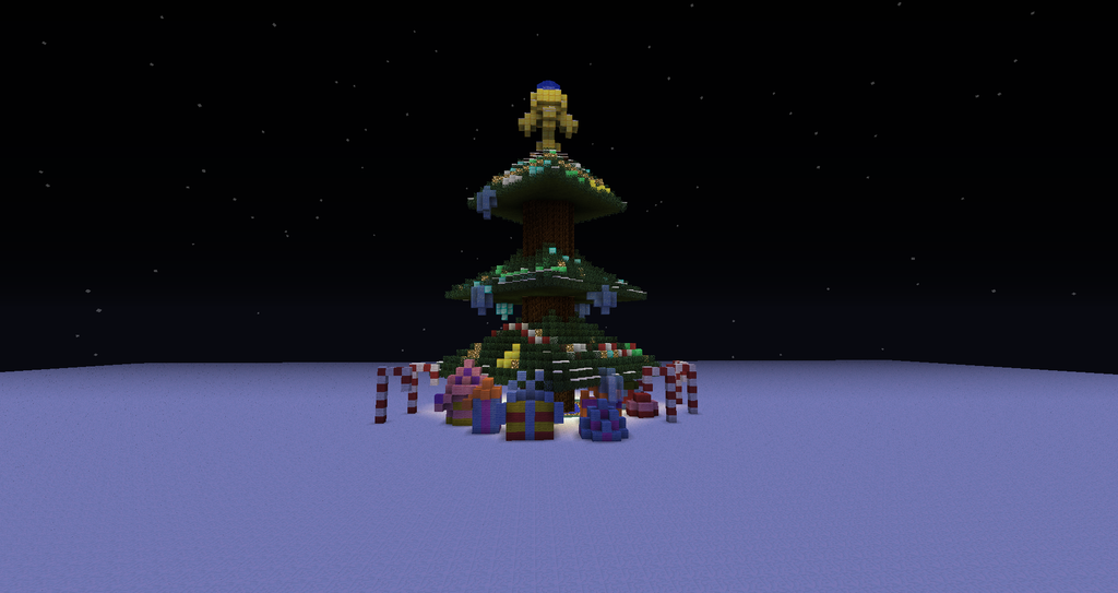 Minecraft Christmas Tree.Make A Minecraft Christmas Tree And Post A Pic