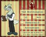 CD NPC: Accountant - Ted Worthington by CD-Vault