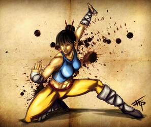 Kung-Fu: Shaolin Girl by Bathiel
