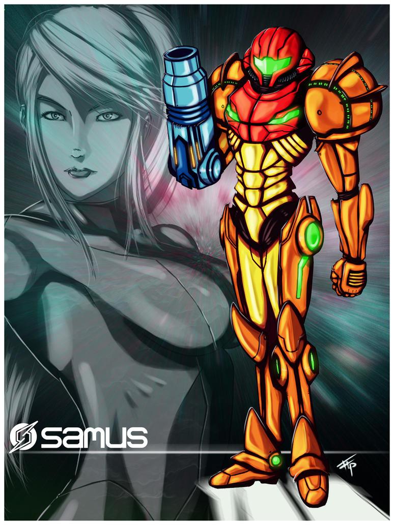Metroid: Samus Aran Varia Suit by Bathiel