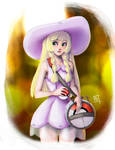 Comission: Pokemon Sun and Moon: Lillie