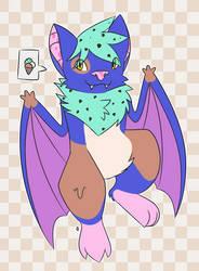ArtFight #1 - Aisu The Ice Cream Bat